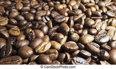 café, café, haricot, arôme, levée, fumée, rôti