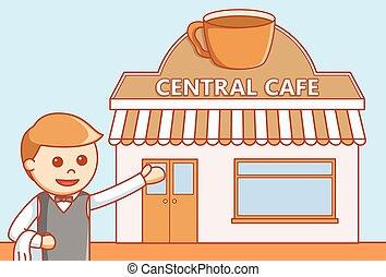 café, café, restaurante