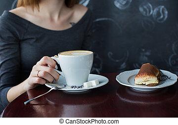 café, café, tasse