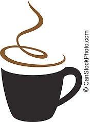café, cappuccino