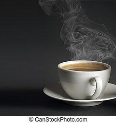 café chaud, tasse