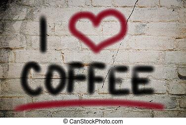 café, conceito