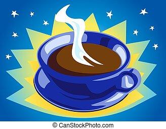 café, cosmique