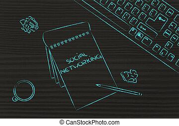café, documentos, keybord, empresa / negocio, escritorio