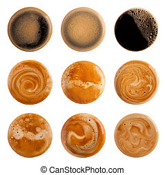 café, espuma