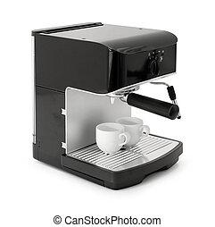 café, fabricante espresso