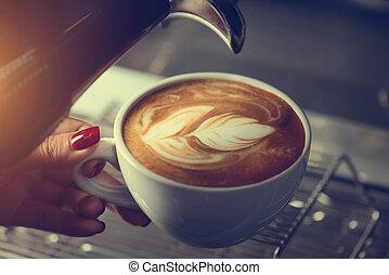 café faisant, barista