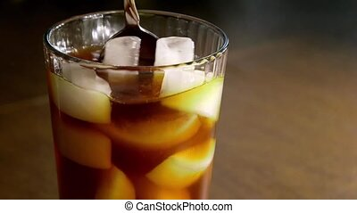 café, glacé