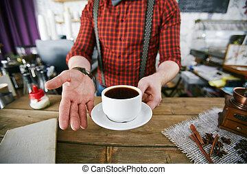 café, gostoso