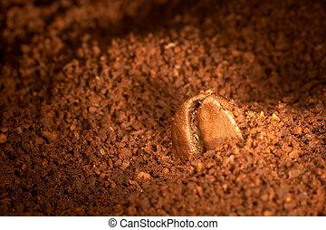 café, grain.