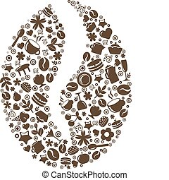 café, grano
