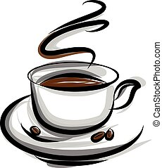 café, ilustración