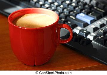 café, informatique