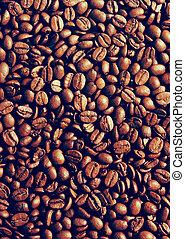 café, instagram, estilo, filtro, feijões, fundo