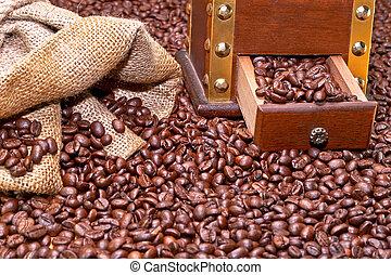 café, installation
