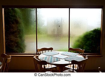 café, intérieur