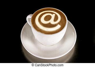 café, internet