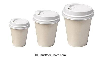 café, isolé, tasse
