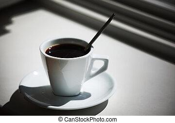 café, manhã