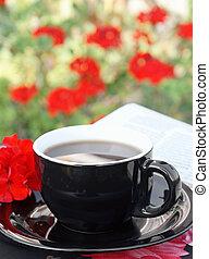 café, matin