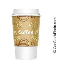 café, plat à emporter