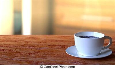 café, publicité