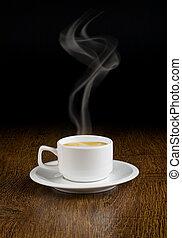 café, sauce, tasse