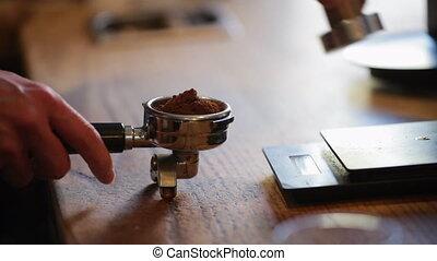 café, tamping, terrestre