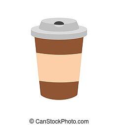 café, tasse jetable