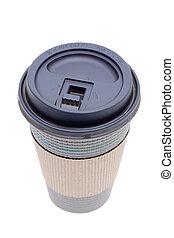 café, tasse papier