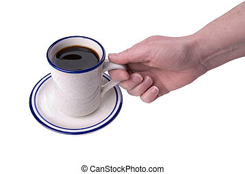 café, tenue femme, tasse