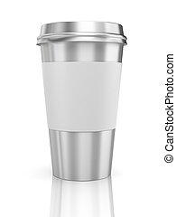 café, thermo, emporter, cup.