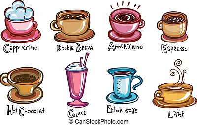 café, tipos