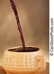 café versant, tasse