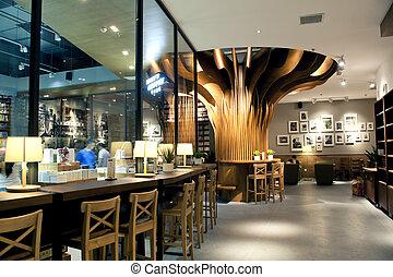 caf?, kaufmannsladen, design