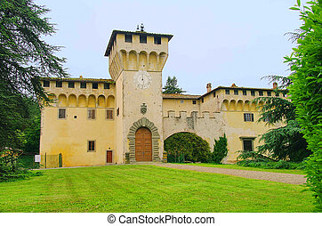 Cafaggiolo Villa Medici 01