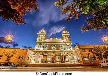 cafayate, salta, argentina., 教会