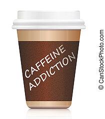 cafeína, addiction.