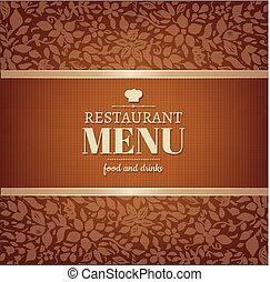 Cafe And Restaurant Menu
