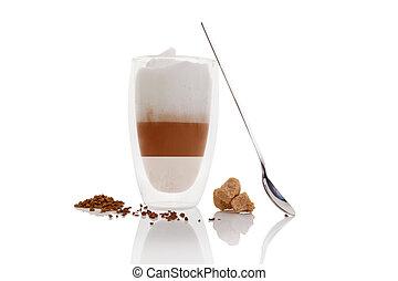 Cafe au lait.