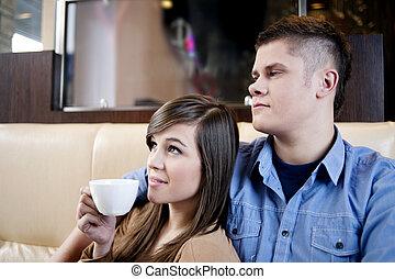 cafe, avkoppling