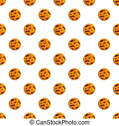 Cafe biscuit pattern seamless