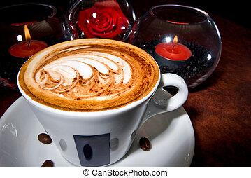 Cafe Espresso - Delicious looking cup of coffee