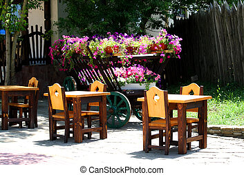 Cafe in the street