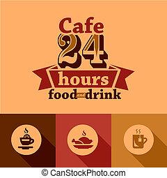 cafe labels