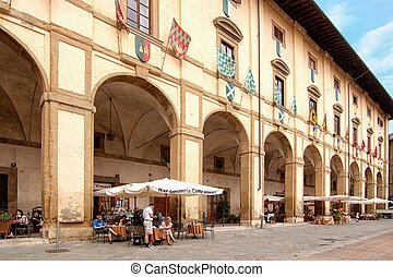 Cafe - picturesque nook of Tuscany - A typical Italian caf?...