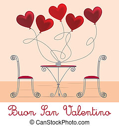 Cafe Valentine Card