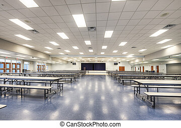 Cafeteria at Middle School