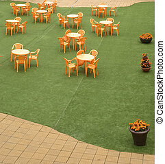 Cafeteria on the terrace