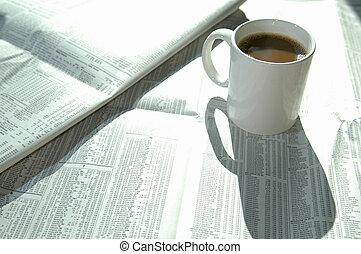 caffè, 2, grafico, casato